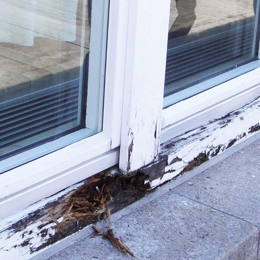 Gut gemocht Holzreparatur mit Repair Care - Michael Hechler Fenster, Türen + Mehr WH91
