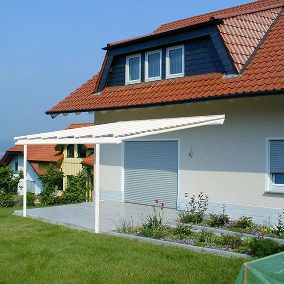 berdachungen f r den eingangsbereich balkone und terrassen michael hechler fenster t ren mehr. Black Bedroom Furniture Sets. Home Design Ideas